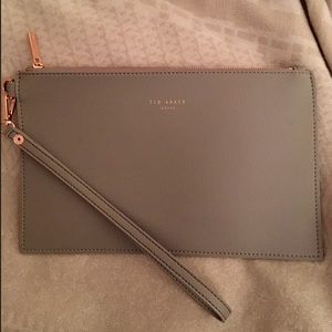 Ted Baker Light Grey Clutch/Pouch